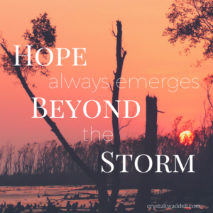 Hope Always Emerges Beyond the Storm