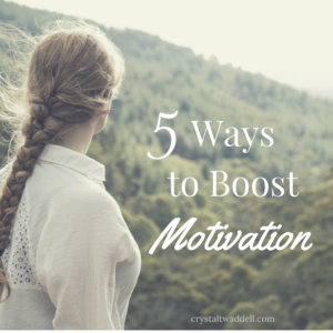 5 Ways to Boost Motivation {Fresh Market Friday Link-Up}