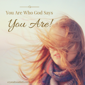 Who God Says You Are! {Link-Up}