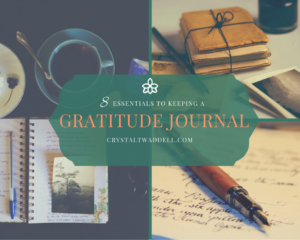 8 Essentials to Keeping a Gratitude Journal {Link-Up}